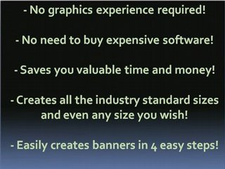Banner ad design, printable banner.