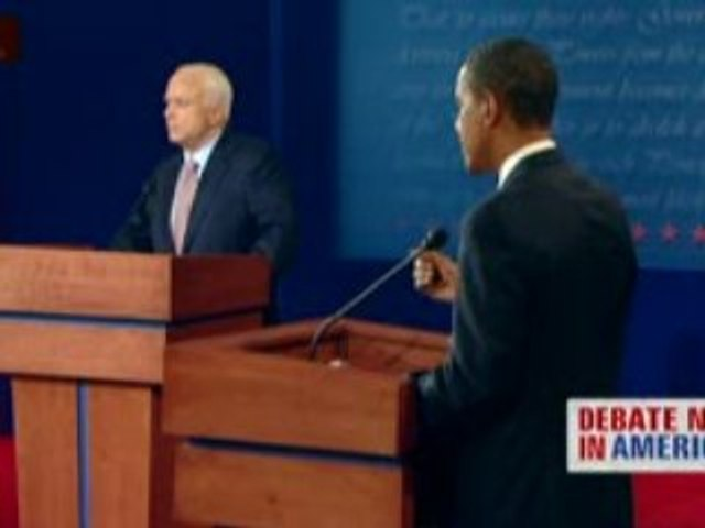 Extrait premier débat entre Mc Cain et Obama en V.O