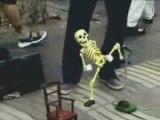 Squelette qui danse