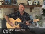 Guitar Lesson- Two Of Us - The Beatles