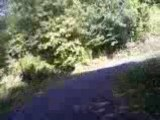 une Camera embarqué du debut de ma route