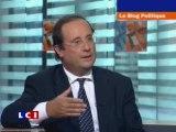 """28 septembre : François Hollande à """"Le blog politique"""" LCI"""