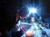 les bougies difficiles à éteindre