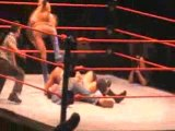 WWE RAW live tour Paris Bercy Fin match Priceless cryme time
