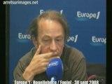 Europe1 - Fogiel / Houellebecq