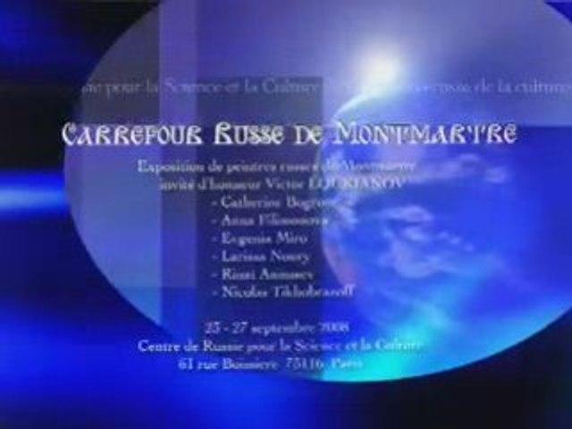 Peintres russes de Montmartre au centre culturel russe Paris