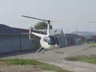 Baptême Hélicoptère Michel