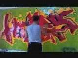graffity in my Room