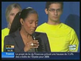 Sarkozy se fait huer par les jeunes apprentis