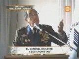 General Edwin Donayre cuenta chistes a los periodistas