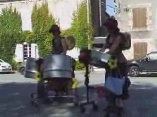 Duo steel drums