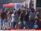 Roma-Napoli 2008 -  ultras stazione termini