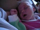 mon bébé trop mimi quand elle dort