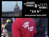 24h avec le Pape à Paris - Pastorale Jeunes Diocèse Lyon