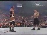 Triple H vs Cena vs Edge Backlash 2006