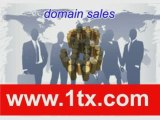 www.1tx.com Premium Domain Auctions and Domain Parking Progr