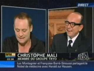 Tryo sur BFM TV le 6 octobre 2008