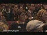 conference de presse de johnny hallyday concert2009