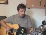 Bleeding love -  reprise guitare acoustique par Sly