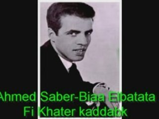 "Ahmed Saber ""Biaa Elbatata"""