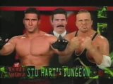 Owen Hart vs Ken Shamrock Dungeon Match