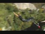 Arnaud et Gaston saut élastique pont Ponsonnas