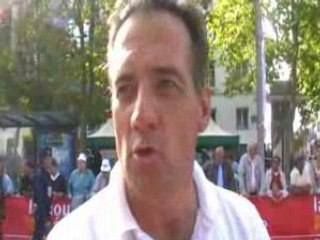 Interview de Frédéric Moret au Paris Tours 2008