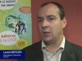 Laurent Berger, secrétaire général CFDT Pays de la Loire