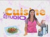 Recette facile : entrée aux carottes par Cuisine Studio