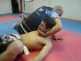 Video technique 039 clé de nuque 90° mma shooto free fight nicolas godin champion monde kempo série technique combat libre training pancrace