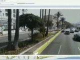 Google maps Street View à Nice.