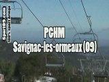 Exercice évacuation télésiege PGHM ARIEGE -