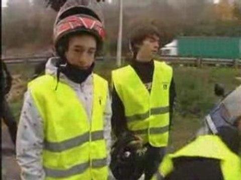 Danger de la route : la preuve par les motards