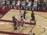 NBA 2K9 - Portland VS Toronto Raptors - Dunk Batum