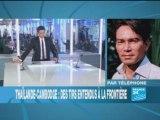 France 24 Échanges de tirs à la frontière