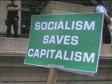 Manifestation à Wall Street