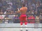 WCW Nitro - Sting walks out on Nitro