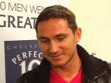 Chelsea star Frank Lampard on Premier League title race