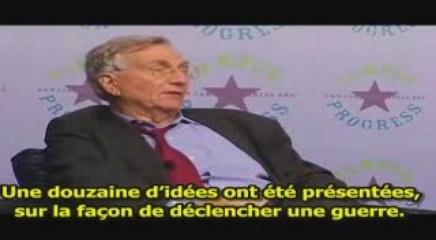 Cheney et les millles et une idée pour une Guerre...
