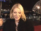 Gwyneth Paltrow talks about Madonna at London Film Festival