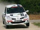 Caméra embarquée Eric Bernisson rallye terre de Langres 2008