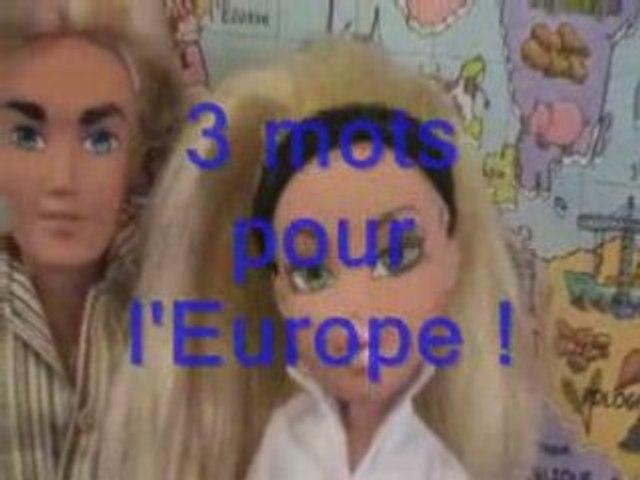 3 mots pour l'Europe Pierre LESCOT - PARIS