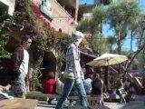 Film 2008 juillet San Francisco chanteurs de rue (country)