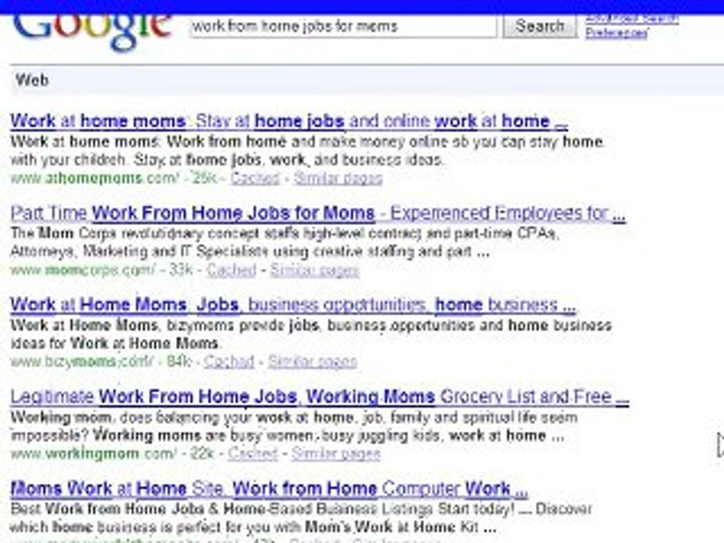 Work From Home Jobs For Moms Part One