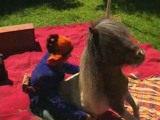 Les Yeux Dans Les Crins, spectacle avec Poney