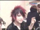 ThE GazettE & Miyavi - tour Backstage 1