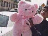 http://www.BigPlush.com GIANT STUFFED PINK TEDDY BEAR ANIMAL