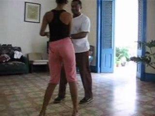 cours de salsa à La Havane (Cuba)