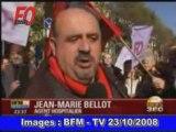 Manifestation Fonctionnaires 23/10/2008