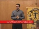 Self Promotion & Self Help Book Motivational Keynote Speaker